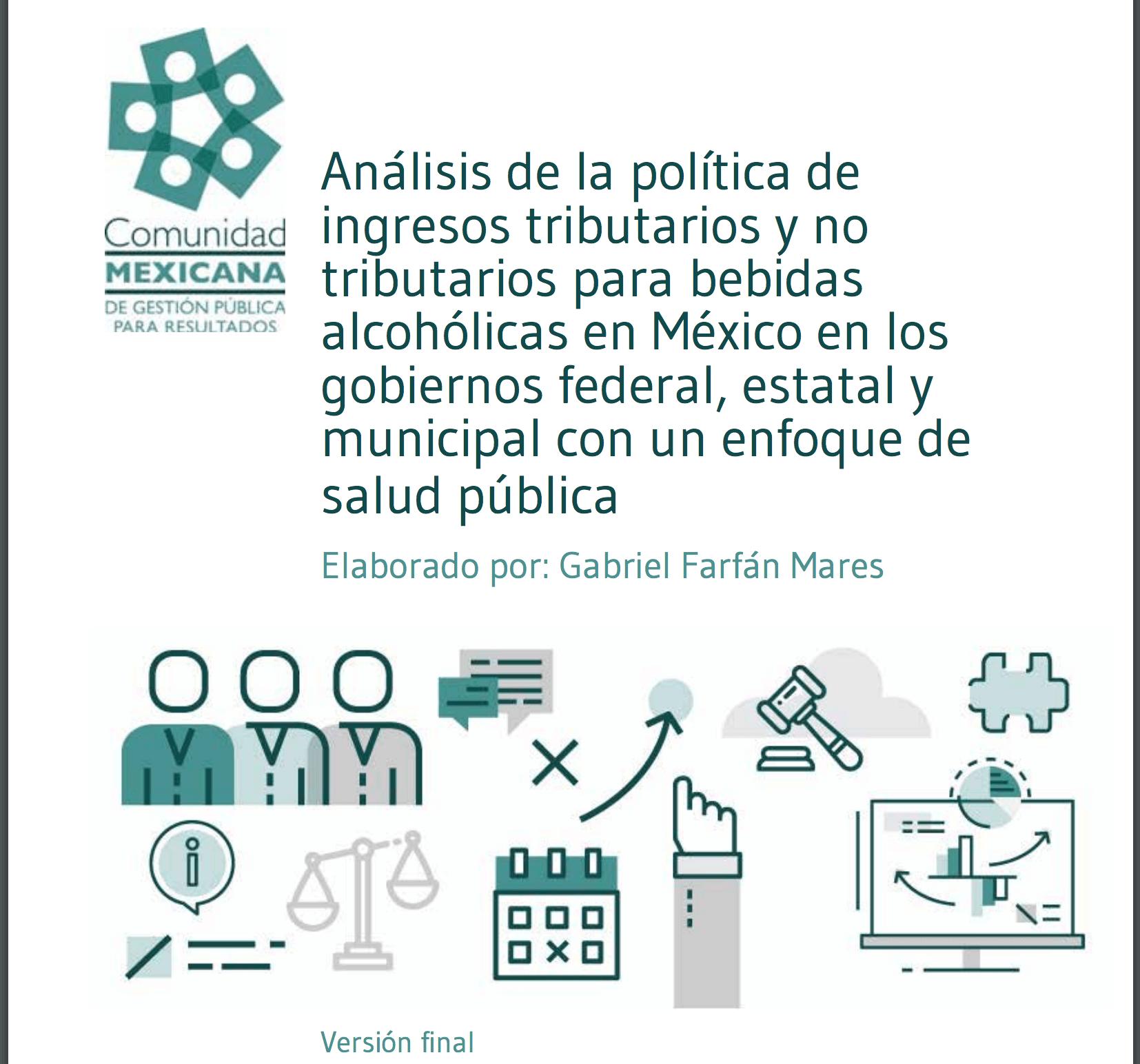 Imagen documento Análisis de la política de ingresos tributarios y no tributarios para bebidas alcohólicas en México